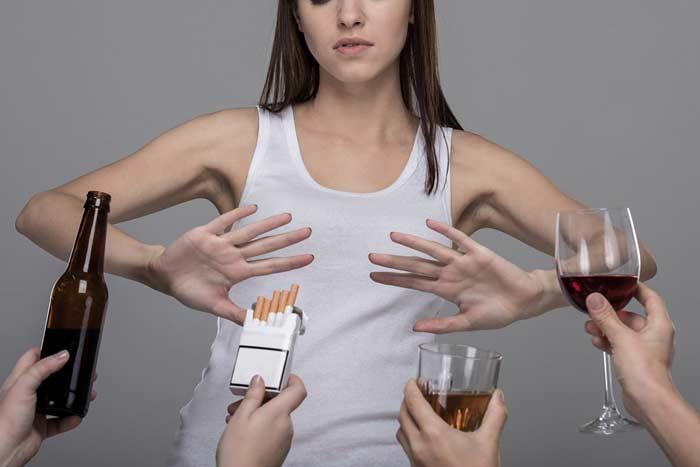 отрицание вредных привычек